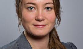 Rebecka Hovenberg, Tekniska verkens vice styrelseordförande. Foto.