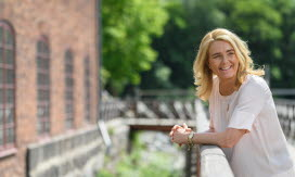 Charlotta Sund, vd och koncernchef. Foto.