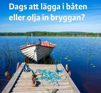 Kemikalier i sjön påverkar vårt dricksvatten