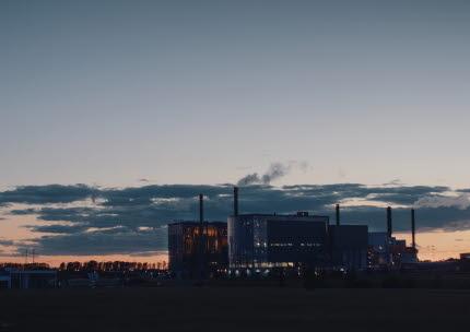 Kraftvärmeverket, Gärstad.