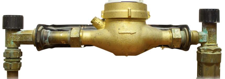 Opålitlig avstängningsventil (LK580). Foto.