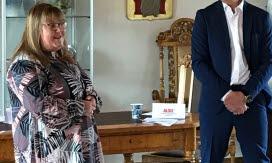 Cecilia Burenby, Mjölby kommun och Peter Karlsson, Vadstena kommun