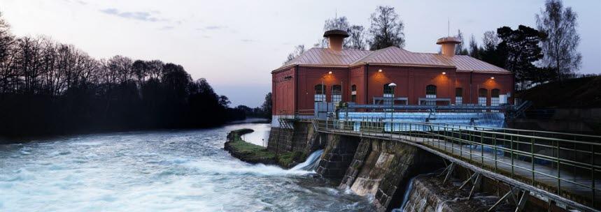 Nykvarn vattenkraftverk.