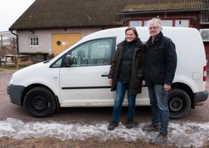 """""""Att köra biogasbil blir som en gemenskap. Man hälsar på varandra när man tankar."""""""